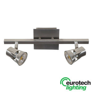 Eurotech Double Chrome LED Spotlight - The Lighting Shop NZ