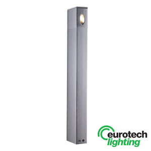 Eurotech Anodized Aluminium LED Bollard Light - The Lighting Shop NZ