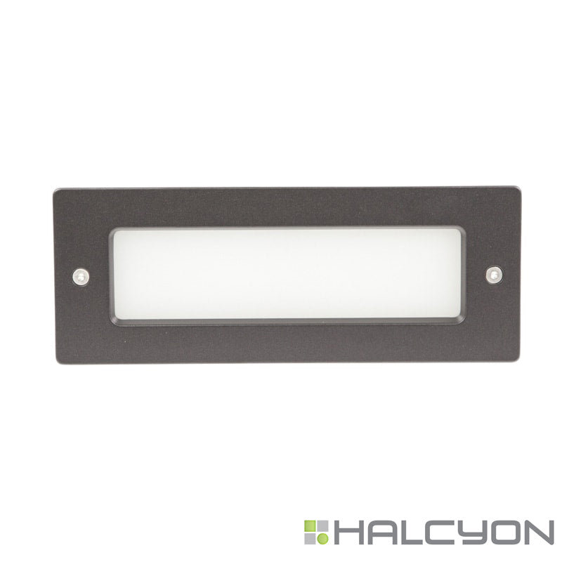 Halcyon LED Exterior Wall Light – Recessed Rectangle