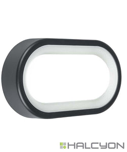 Halcyon LED Exterior Bulkhead Medium – Lunar Series