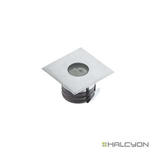 Halcyon LED Exterior Recessed Deck Light – Uplight Square