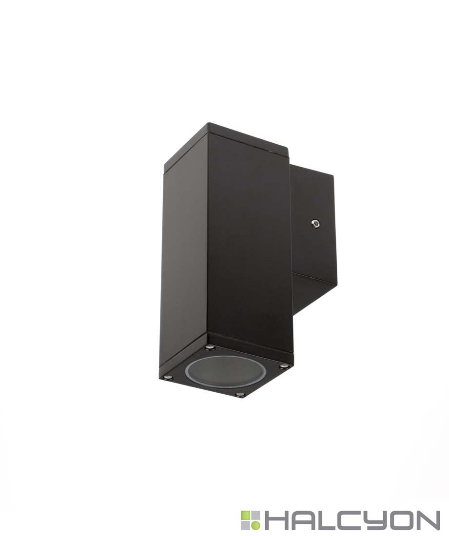 Halcyon LED Exterior Square Single – Surface Mount Wall or Column