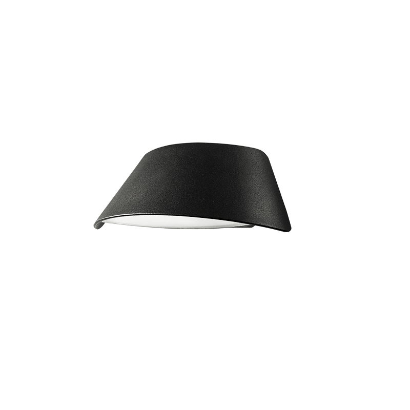 Homelighting Visor LED Black Wall Light