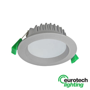 Eurotech Bright LED Downlights -- Silver - The Lighting Shop NZ
