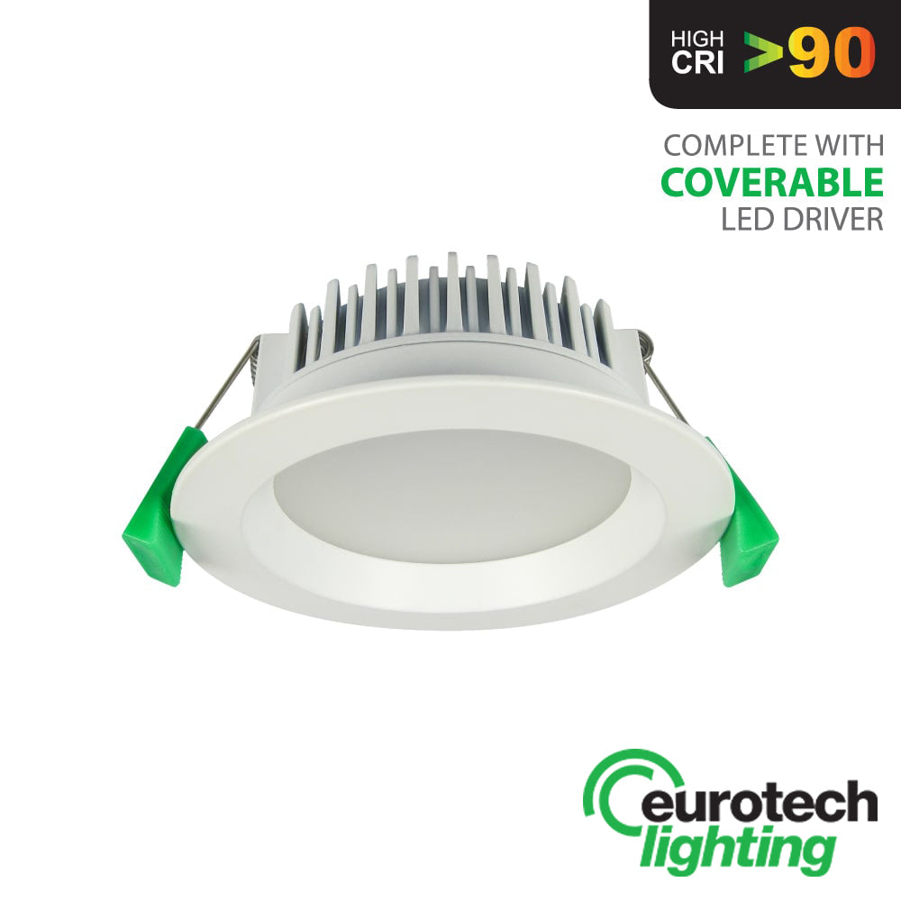 Eurotech LED Round High CRI downlight - The Lighting Shop NZ