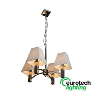 Eurotech LED Quadruple Pyramid Pendant - The Lighting Shop NZ