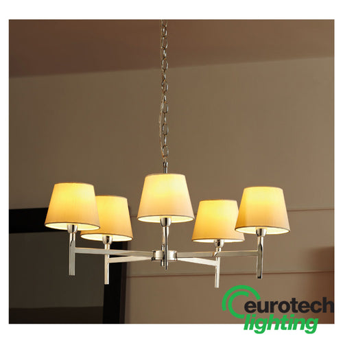 Eurotech LED Quintuple Decorative Pendant - The Lighting Shop NZ