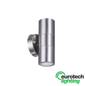 Eurotech LED Round-Based Stainless Steel Up//Down Spotlight - The Lighting Shop NZ