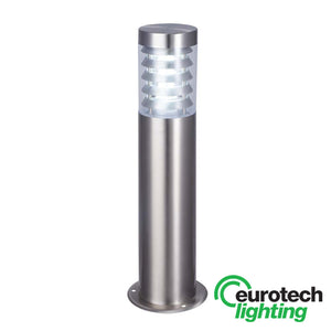 Eurotech Stainless Steel 800mm Louvred LED Bollard - The Lighting Shop NZ