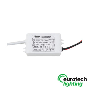Eurotech 0-7.5W 12V DC Constant Voltage LED Driver - The Lighting Shop NZ