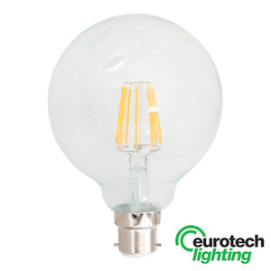 Eurotech LED Filament Bulb -- 125mm - The Lighting Shop NZ