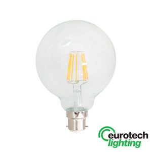 Eurotech LED Filament Bulb -- 95mm - The Lighting Shop NZ