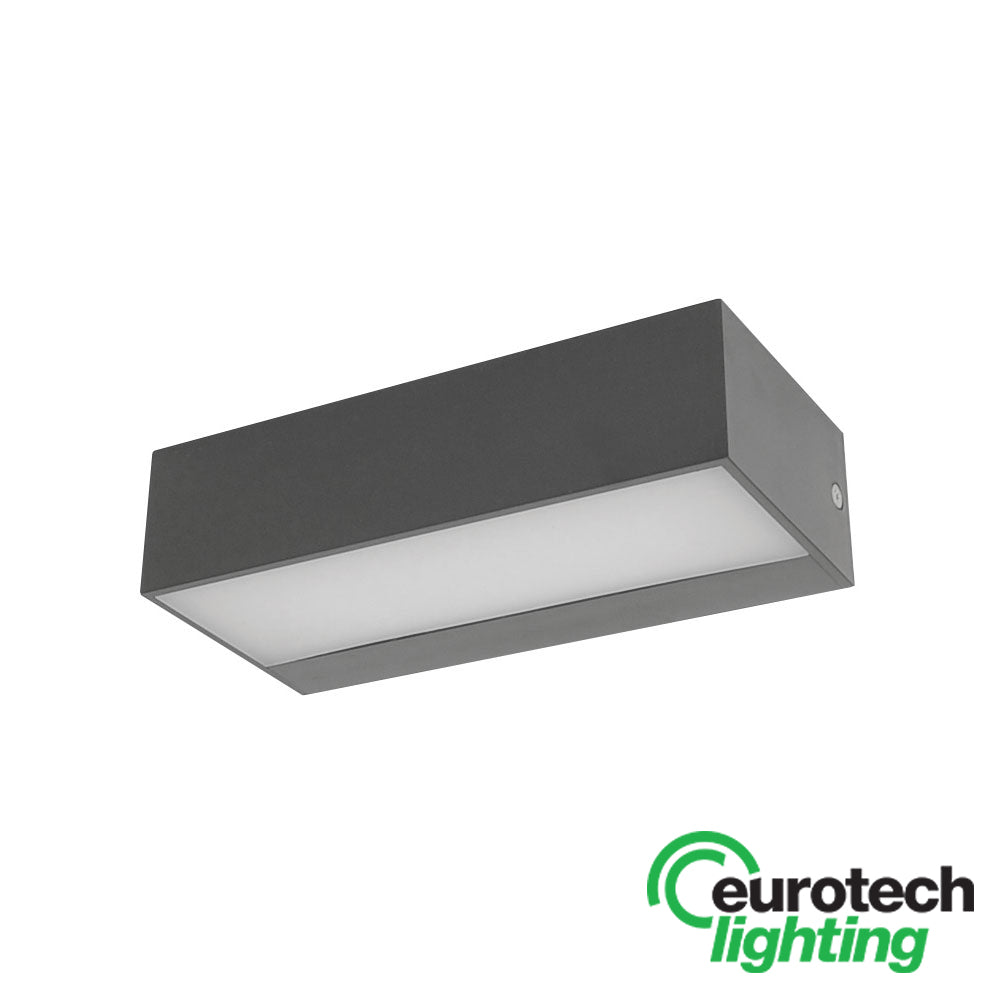 Eurotech Small LED Up/Down Outdoor Wash Light - The Lighting Shop NZ