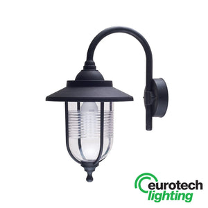 Eurotech Plastic outdoor lantern wall light - The Lighting Shop NZ