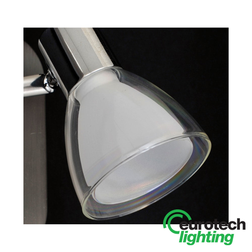 Eurotech Double Glass-Shaded LED Spotlight - The Lighting Shop NZ