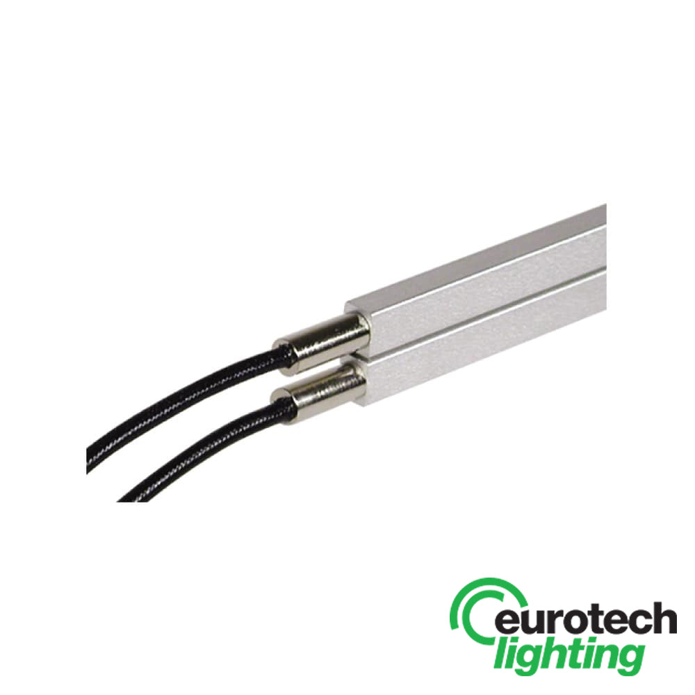 Eurotech Rail End Power Feed - The Lighting Shop NZ