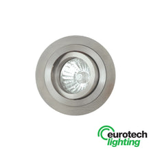 Eurotech LED Round Stainless Steel Tilt Downlights- Transformer included - The Lighting Shop NZ