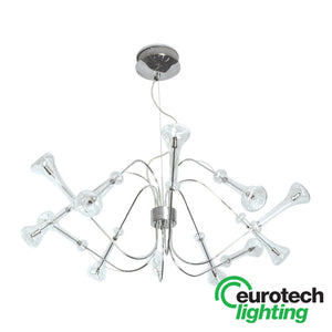 Eurotech LED Modern Chandelier - The Lighting Shop NZ