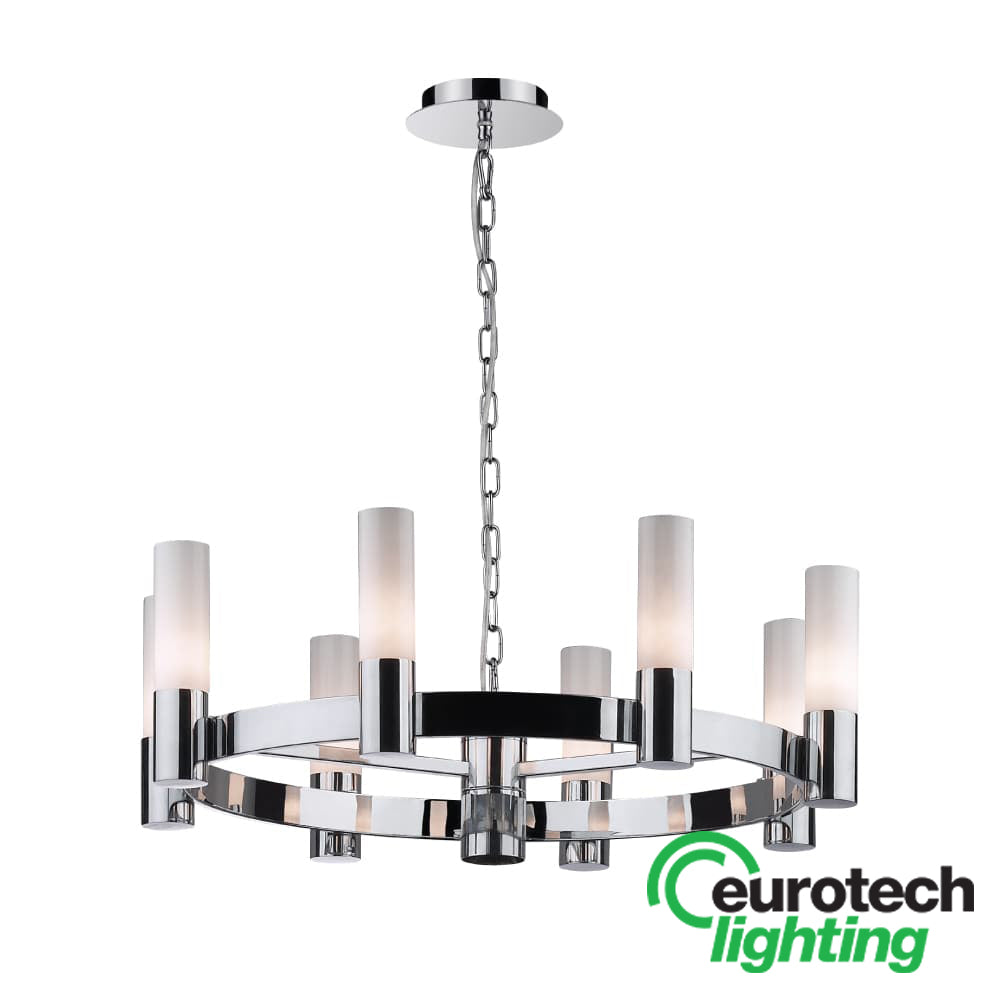 Eurotech LED Crown Chandelier - The Lighting Shop NZ