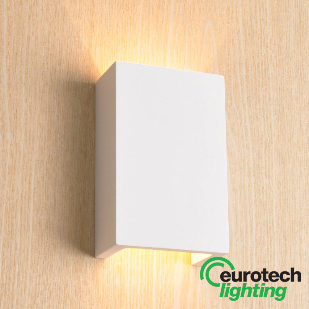 Eurotech LED Paintable Edged Wall Light - The Lighting Shop NZ