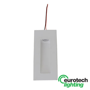 Eurotech Paintable Recessed LED Hallway Light - Square - The Lighting Shop NZ