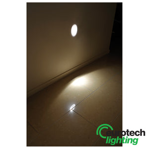 Eurotech Oval-Shaped LED Wall Light - The Lighting Shop NZ
