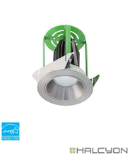 Halcyon LED Exterior Recessed Round Fixed Downlight Kit