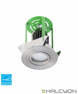 Halcyon LED Exterior Recessed Round Tilt Downlight Kit