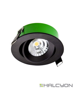 Halcyon LED Interior Recessed Zero Clearance Downlight u2013 Shallow Profile Round Tilt  sc 1 st  The Lighting Shop NZ & Halcyon LED Interior Recessed Zero Clearance Downlight u2013 Shallow ...