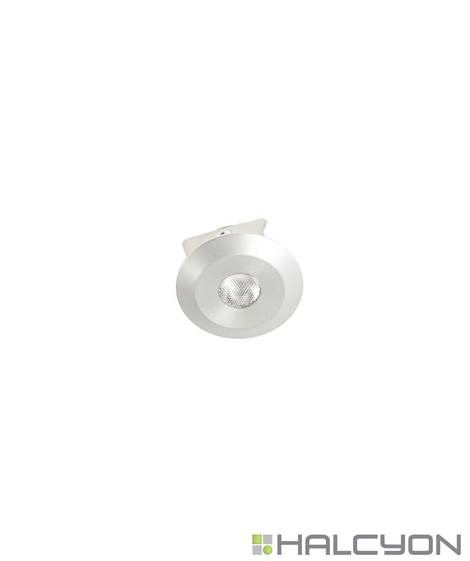 Halcyon LED Fixed Round Ultra Shallow LED Downlight