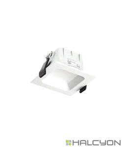 Halcyon Recessed LED Downlight with Driver – Mini Square Low Glare
