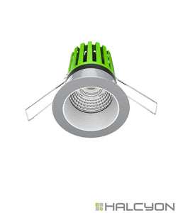 Halcyon Recessed LED Downlight with Driver – Mini Darklight Design Series