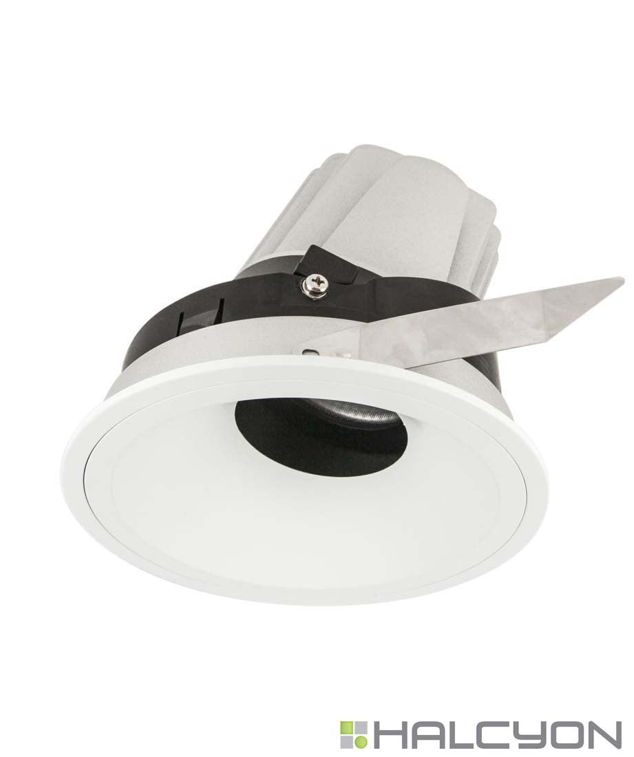 Halcyon LED Commercial Recessed LED Darklight – Wall Wash Tilt XL