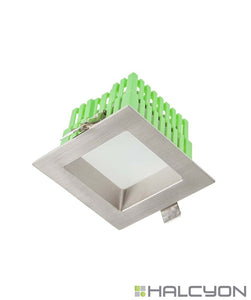 Halcyon Recessed LED Downlight with Driver – Square Low Glare