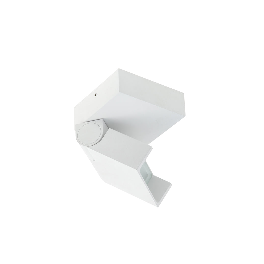 Surface Mount Wall or Ceiling Multi Use Tilt/Rotate Flood