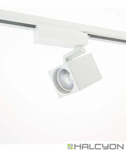 Halcyon LED Single Circuit Track Spot – Square Dimmable