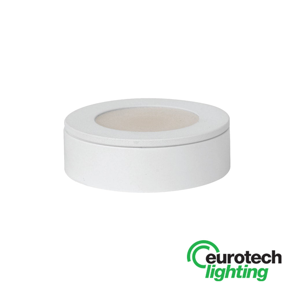 Eurotech LED round cabinet light - The Lighting Shop NZ