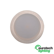 Eurotech LED Round Recessed Cabinet Light - The Lighting Shop NZ