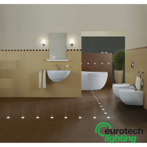 Eurotech LED stainless steel inground uplighter - The Lighting Shop NZ