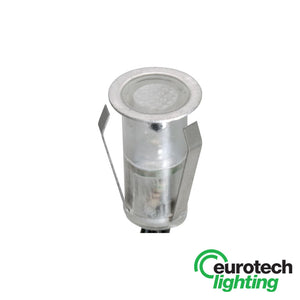 Eurotech Stainless Steel Decorative Inground LED Uplighter - The Lighting Shop NZ