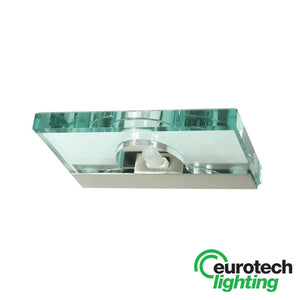 Eurotech LED Single Glass Halogen Wall Light - The Lighting Shop NZ