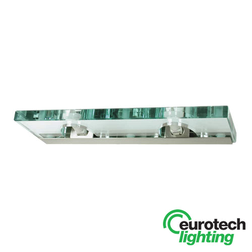 Eurotech LED Double Glass Wall Light - The Lighting Shop NZ