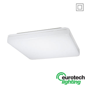 Eurotech LED Square Wall Buttons - The Lighting Shop NZ