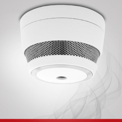 Wireless Cavius Smoke Detector - The Lighting Shop NZ