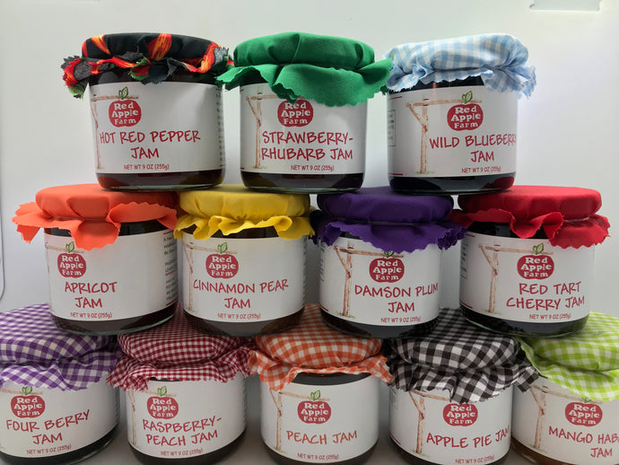 New England Jam Sampler - Choose any 4 jams or apple butters