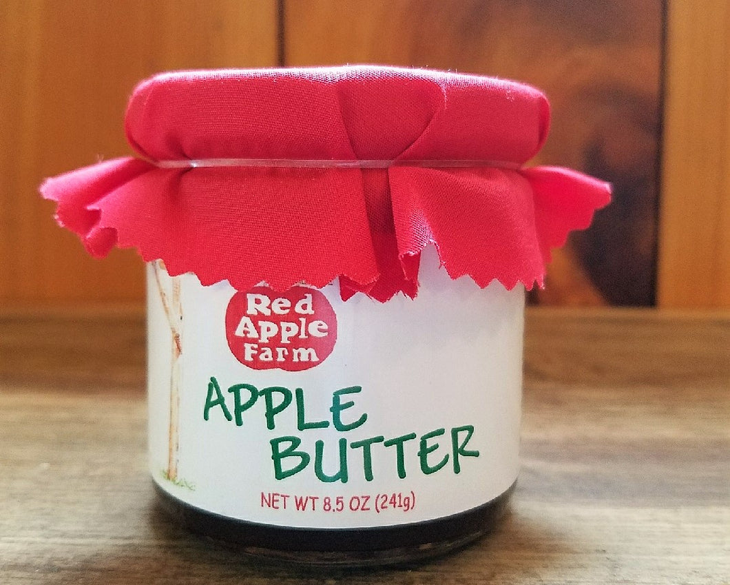 Apple Butter - 8.5oz Jar with Cloth Topper