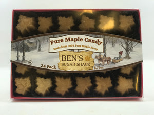 Pure Maple Candy - 24 piece Mini Maple Leaf