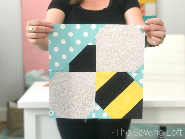 Bumble Bee Quilt Block Pattern Thesewingloft