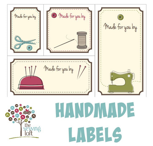 Printable Quilt Labels