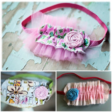 Boutique Ruffle Headband Pattern